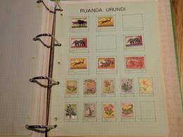 . 146.  LARGE COLLECTION. RUANDA-URUNDI, RWANDA . USED.  START. DEPART 1€ - Sammlungen (im Alben)