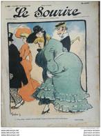 1904 Journal LE SOURIRE - GRÜN- MIRANDE - Jean VILLEMOT - ROUBILLE ETC... - Altri