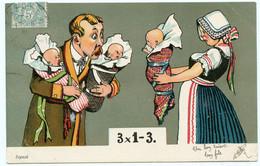 Bébé. Bébés. 3 X 1 = 3   Des Jumeaux ?? !! ?? !!  Non !! Des Triplés !!!! - Bébés