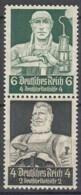 DR S 221, Postfrisch**,  Nothilfe: Berufsstände 1934 - Zusammendrucke