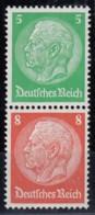 DR S 119, Postfrisch **, Hindenburg 1934 - Zusammendrucke