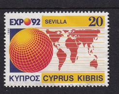 Cyprus 1992, Minr 787 Vfu - Oblitérés