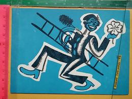 KOV 8-253 - New Year, Bonne Annee, RAMONEUR, CHIMNEY SWEEP, Treffle, Gambling, Jeux D'argent, Igra Na Srecu 1966 - Anno Nuovo