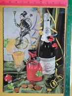 KOV 8-253 - New Year, Bonne Annee, RAMONEUR, CHIMNEY SWEEP, Champignon, Mushroom, Money, Champagne - Anno Nuovo