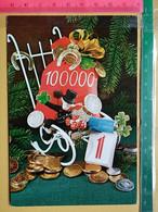 KOV 8-254 - New Year, Bonne Annee, RAMONEUR, CHIMNEY SWEEP, Champignon, Mushroom, Money - Anno Nuovo