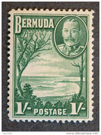 """GRAN BRETAGNA Colonie -1936- """"BERMUDA"""" S. 1 MH* (descrizione) - Otros"""