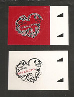 France, Autoadhésif, Adhésif, 102, 103, 3998, 3999, Neuf **, TTB, Saint-Valentin, Coeur, Givenchy - Luchtpost