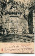 - 79- DEUX-SEVRES -MENIGOUTE-Abbaye Des Chateliers-Porte De La Chapelle - Otros Municipios