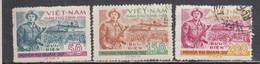 Vietnam Nord 1958 - Dienstmarken, National Defense, Mi-Nr. 26/28, Used - Vietnam