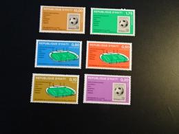 K45389- Set  MNH D'Haiti 1974 - Preliminaires De Football Munich - 1974 – West-Duitsland
