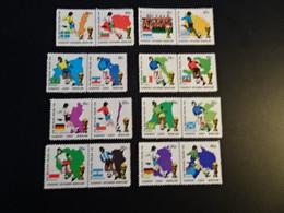 K45394- Set  MNH Nederland - Netherlands 1974 - Stadspost Apoeldoorn - Worldcup Football Germany - 1974 – West-Duitsland