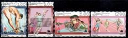 Sri Lanka 1996 Yvert 1100-03, Atlanta Summer Olympic Games - MNH - Sri Lanka (Ceylon) (1948-...)