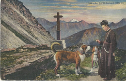 Au Grand Saint Bernard    Chanoine   Chien - Other