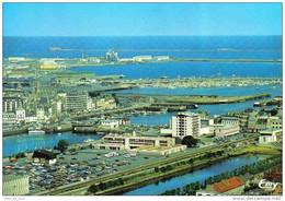 Carte Postale 50. Cherbourg  Vue D'avion Trés Beau Plan - Cherbourg