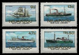Niuafo'ou-Insel 1985 - Mi-Nr. 57-60 B ** - MNH - Schiffe / Ships - Tonga (1970-...)