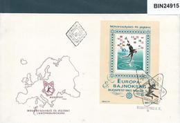 HUNGARY - 1963 FDC BLOCK EUROPA BAJNOKSAG  - 24915 - Athlétisme