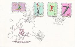 HUNGARY - 1963 FDC BLOCK EUROPA BAJNOKSAG  Imperforated - 24916b - Athlétisme