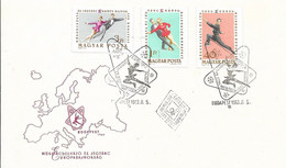HUNGARY - 1963 FDC BLOCK EUROPA BAJNOKSAG - 24916a - Athlétisme