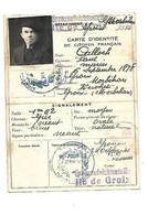 CARTE IDENTITE DE CITOYEN FRANCAIS GREAZAUFSICHTSSTELLE ILE DE GROIX 24 OCTOBRE 1941 CALLOCH PAUL MARIN KEROLET GROIX - Groix