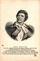 MARAT Jean Paul Illustration      France Frankrijk Francia - Sin Clasificación
