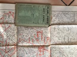 Plan De Paris TARIDE 1907 Société Générale - Unclassified