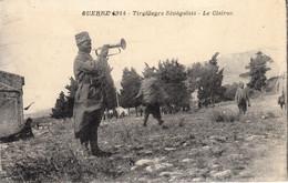 Thematiques Senegal Tirailleurs Senegalais Le Clairon Guerre De 1914 - Weltkrieg 1914-18