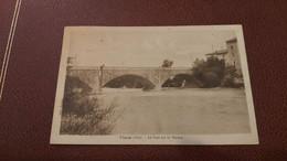 Ancienne Carte Postale - Vinon - Le Pont Sur Le Verdon - Autres Communes