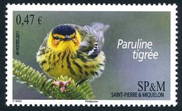 ST-PIERRE ET MIQUELON 2011 - Yv. 991 **  - Oiseau Paruline Tigrée  ..Réf.SPM12523 - Unused Stamps