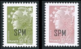 ST-PIERRE ET MIQUELON 2011 - Yv. 992 Et 993 **  - Mar De Beaujard 0,75€ Et 0,95€ (2 Val.)  ..Réf.SPM12524 - Unused Stamps
