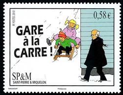 ST-PIERRE ET MIQUELON 2010 - Yv. 985 **   Faciale= 0,58 EUR - Expression Locale 'Gare à La Carre'  ..Réf.SPM12521 - Unused Stamps