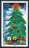 ST-PIERRE ET MIQUELON 2010 - Yv. 990 **   Faciale= 0,58 EUR - Noël. Sapin Et Bougies  ..Réf.SPM12522 - Unused Stamps