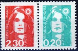 P2614  2,30F+0,20F  NEUF ** ANNEE 1990 - 1989-96 Marianna Del Bicentenario