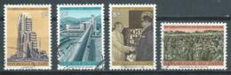 Zaïre YT N°871/874 Nouveau Régime Oblitéré ° - 1971-79: Gebraucht