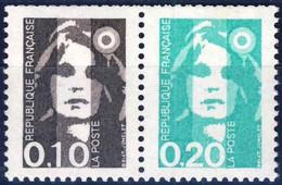 P2617 10c + 20c  NEUF ** ANNEE 1990 - 1989-96 Marianna Del Bicentenario