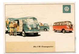 Wolgswagen - Transporter  -  Combi - CPM° - Turismo