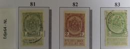 België 1907 Frankeerzegel Rijkswapen - 1893-1907 Coat Of Arms