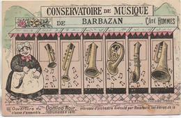 31  Conservatoire De Musique De BARBAZAN Carte Humoristique - Barbazan