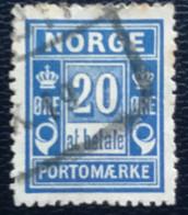 Norge - Norway - Noorwegen - P4/22 - (°)used - 1890 - Michel 5 - Port ' At Betale' - Gebraucht