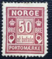 Norge - Norway - Noorwegen - P4/22 - (°)used - 1897 - Michel P6 - Port ' At Betale' - Gebraucht