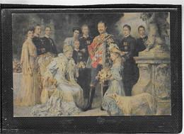AK 0602  Wilhelm II. Von Preußen Im Kreise Seinewr Familie Ca. Um 1910 - Hommes Politiques & Militaires