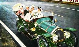 ► Automobile Vintage VINOT DEGUINGAND Et Ombrelle 1910 - LE MANS Circuit Des 24 Heures Série Du Cinquantenaire - Le Mans