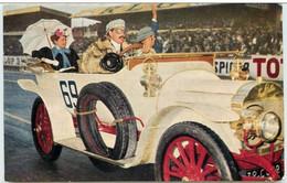 ► Automobile Vintage LEON BOLLEE Et Ombrelle 1912 - LE MANS Circuit Des 24 Heures Série Du Cinquantenaire - Le Mans