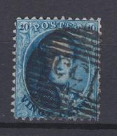 N° 15 : 133 YPRES   COBA +8.00 - 1863-1864 Médaillons (13/16)