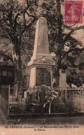 23 / LEPAUD / MONUMENT AUX MORTS POUR LA PATRIE / RARE - Other Municipalities