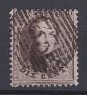 N° 14 A : 33 DINANT - 1863-1864 Médaillons (13/16)