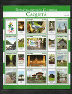 COLOMBIA, 2019 ,BIRDS,ANIMALS, S/S, MNH **NEW! - Unclassified
