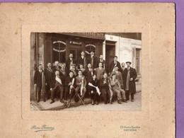 Photo Personnages Cafe Restaurant Laurent - Maison Bouillot   - Photographe Pierre Premery Nevers - 21 Cm X 27 C C - Personas Anónimos