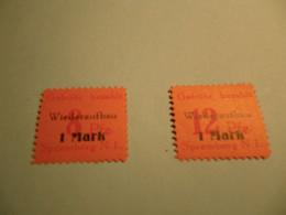 Lokalpost, Spremberg, Michel Nr. 15-16A, Postfrisch Mit Falz , Selten Im Angebot , Siehe Potos - Soviet Zone