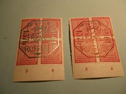 Lokalpost, Rosswein, Michel Nr. 1-2, Postfrisch Mit Falz , Selten Im Angebot , Siehe Potos - Soviet Zone