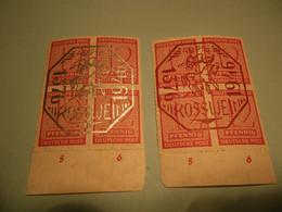 Lokalpost, Rosswein, Michel Nr. 1-2, Postfrisch  , Sehr Selten Im Angebot , Siehe Potos - Soviet Zone